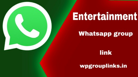 Entertainment WhatsApp group link