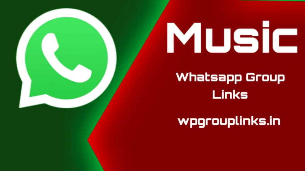 Music WhatsApp group link