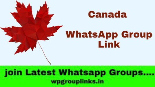 Canada WhatsApp Group Link