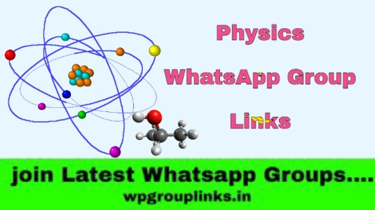 Physics WhatsApp Group Links